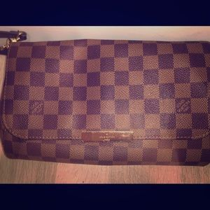 Louis Vuitton Favorite MM & Matching Wallet